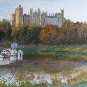 Arundel Castle and River Arun