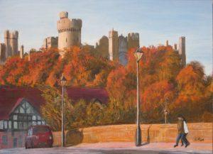 Arundel Castle Autumn Painting