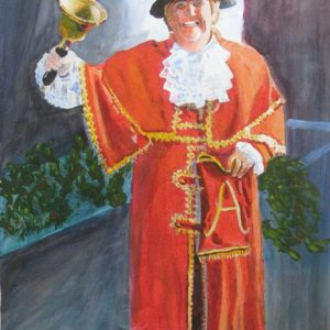 Arundel Town Crier in West Sussex