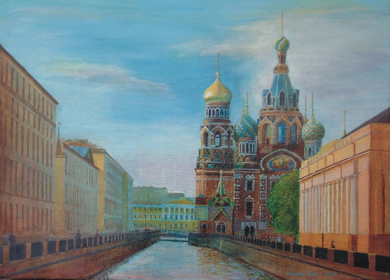 Church of Spilled Blood in St Peterburg