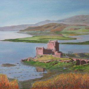 Eilean Donan Castle In Highlands