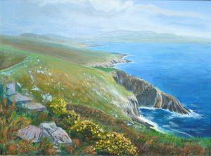 Beara Peninsula Dursey Island Painting