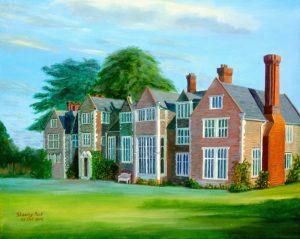 Loseley House Wedding art