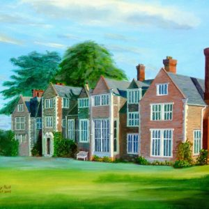 Loseley House Wedding Art