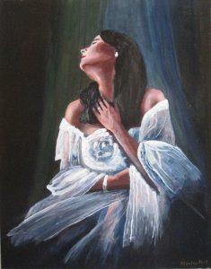 Violetta La Traviata portrait