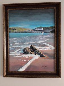 Incoming Tide, a Scottish seacape