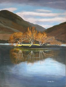 Lake District Reflections Painting