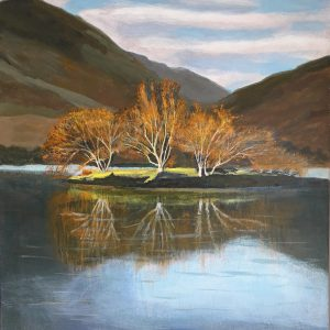 Painting of Crummock Water