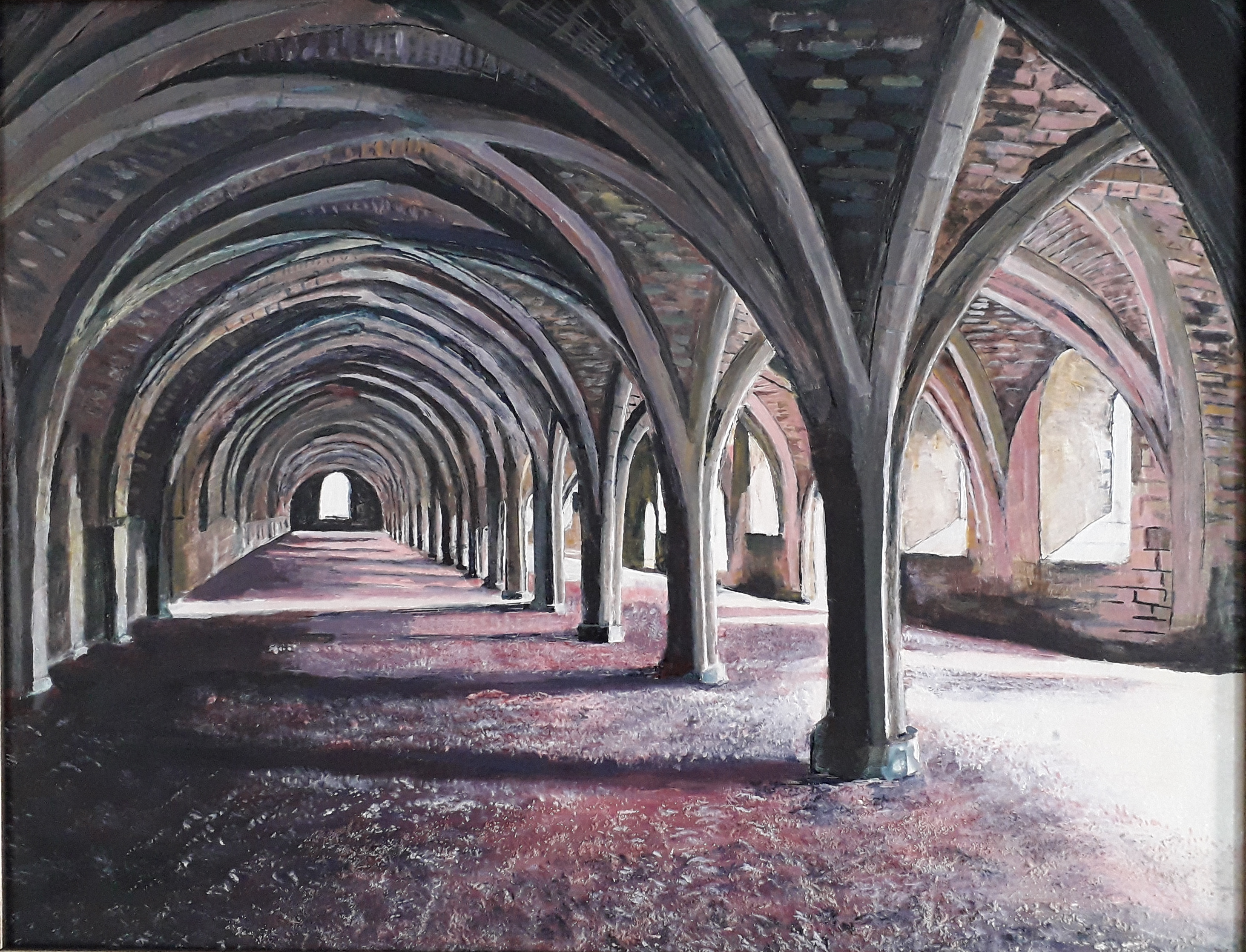 Great Cloisters at Fountains Abbey