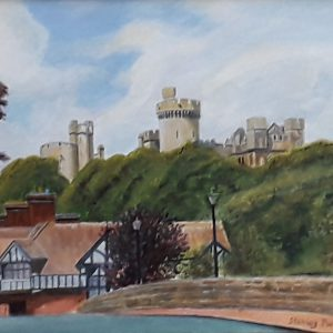Arundel Castle from the Bridge