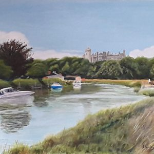 Arundel Castle from River Arun