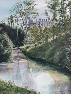 Arundel Castle from Mill Road