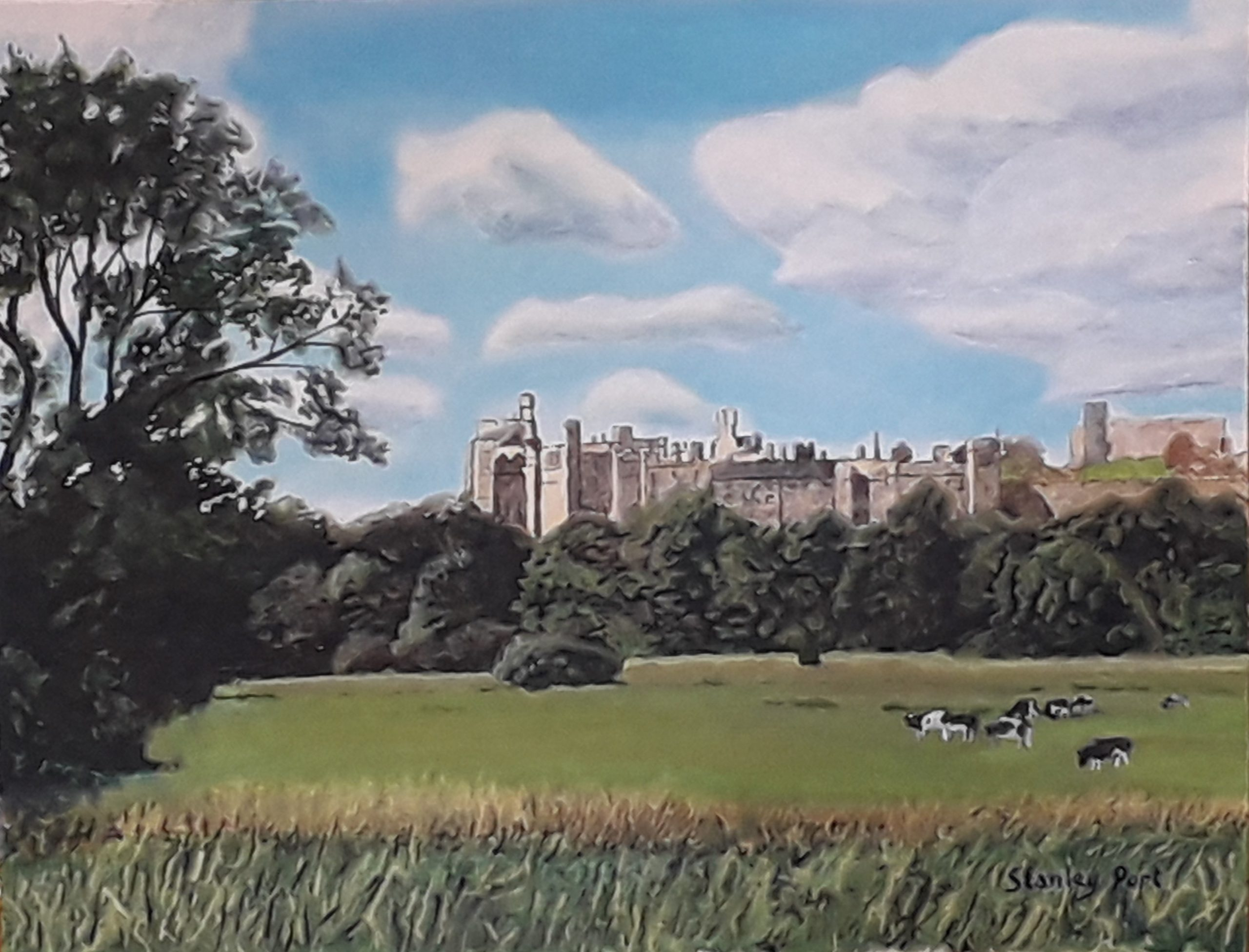 Arundel River Meadows Painting