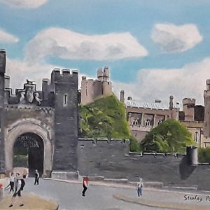 The way out from Arundel Castle