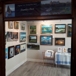 Exhibition of Paintings in Arundel West Sussex
