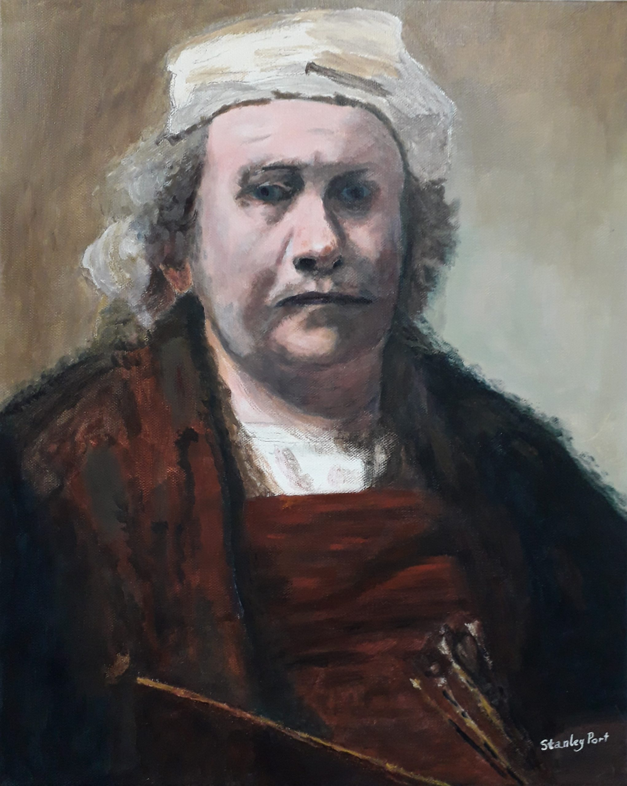 Rembrandt Portraiture Painting