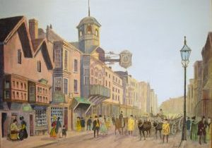 guildford high street in early victorian times