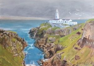 The Lighthouse at Fanad Head in Donegal Ireland